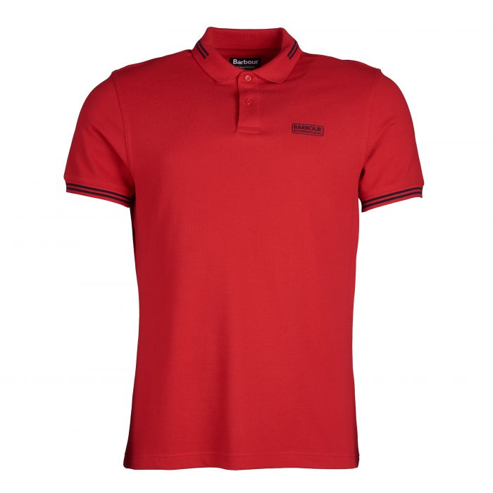 B.Intl Essential Tipped Polo Shirt