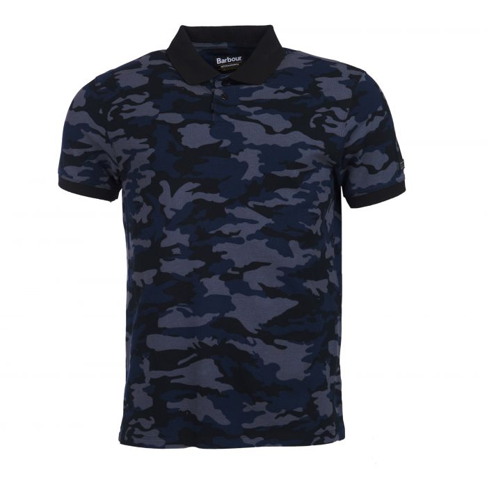 B.Intl Camo Polo Shirt
