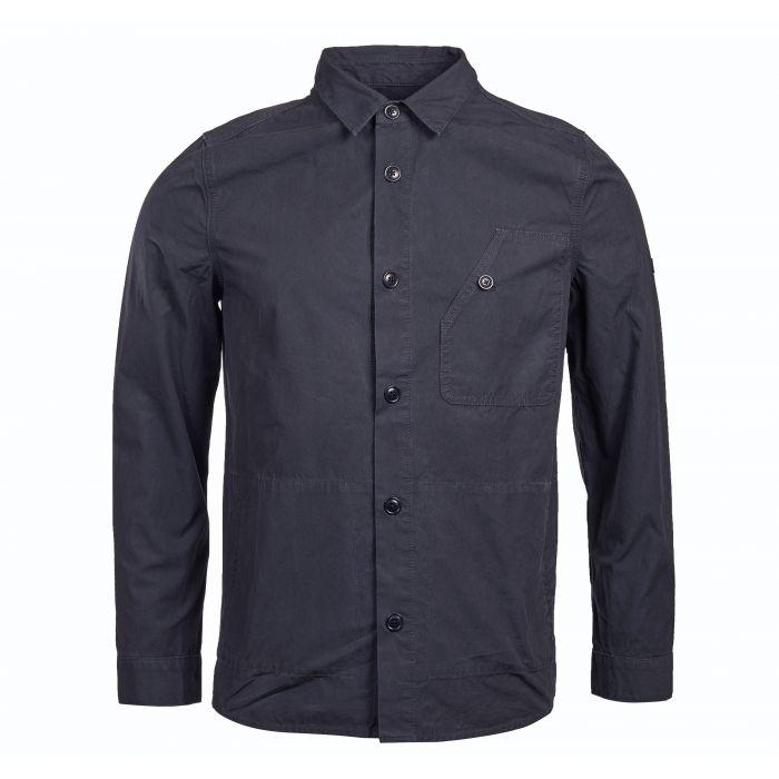 B.Intl Camber Button Thru Overshirt
