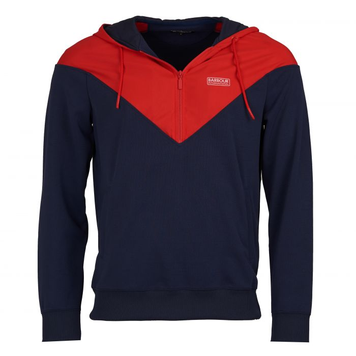 B.Intl Chevron Hooded Sweatshirt