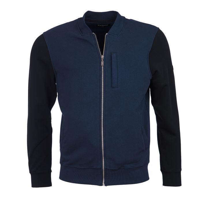 B.Intl Disc Zip Through Sweatshirt