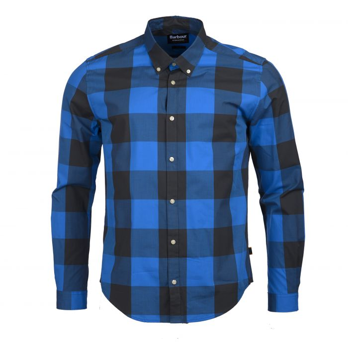 B.Intl Bold Gingham Slim Fit Shirt