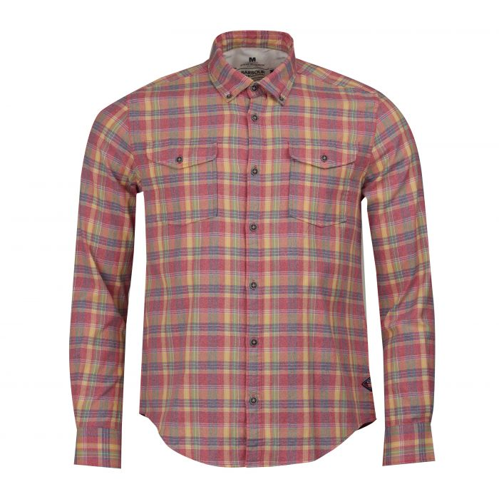 B.Intl Steve McQueen™ Seven Check Slim Fit Shirt