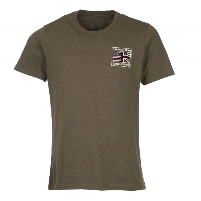 B.Intl Steve McQueen™ Flag T-Shirt
