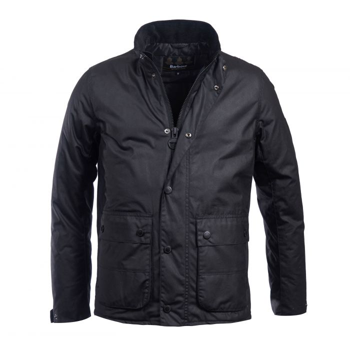 B.Intl Armour Waxed Cotton Jacket