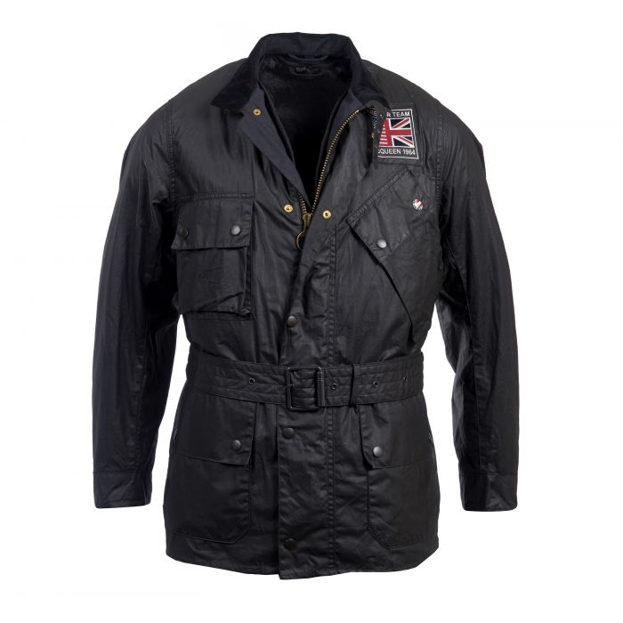 Barbour International Joshua Waxed Cotton Jacket