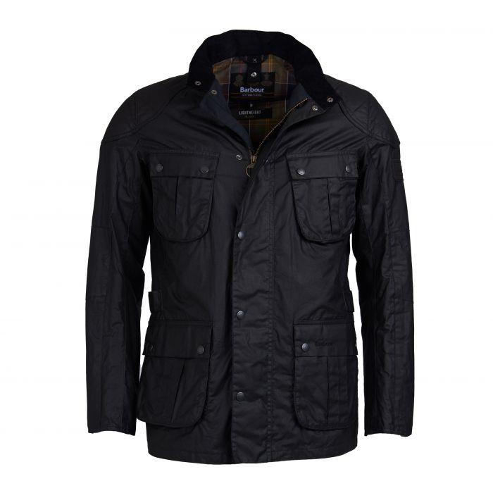 B.Intl Lightweight Lockseam Waxed Cotton Jacket
