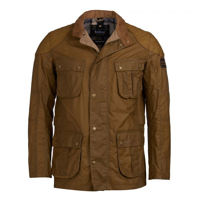 B.Intl Lightweight Lockseam Waxed Cotton Jacket