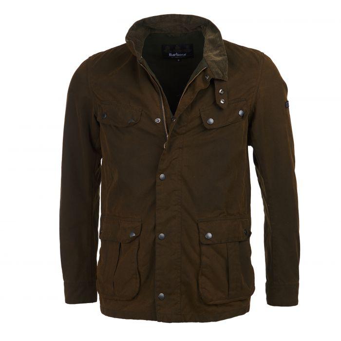 B.Intl Duke Washed Waxed Cotton Jacket