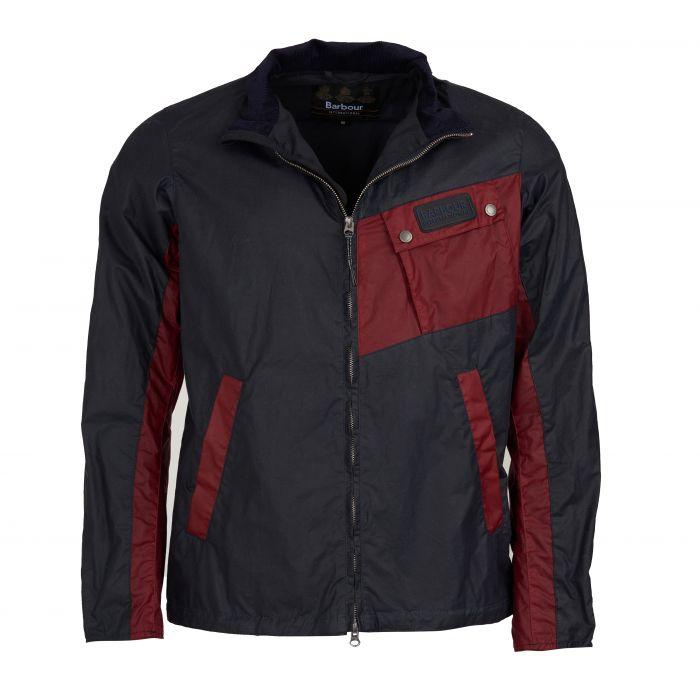 B.Intl Ayr Waxed Cotton Jacket