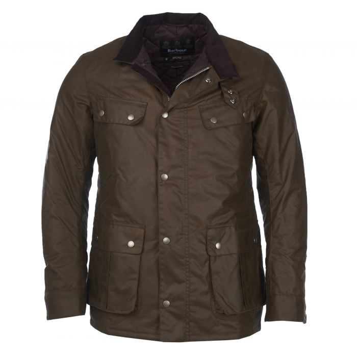 B.Intl Steve McQueen™ Duke Waxed Cotton Jacket