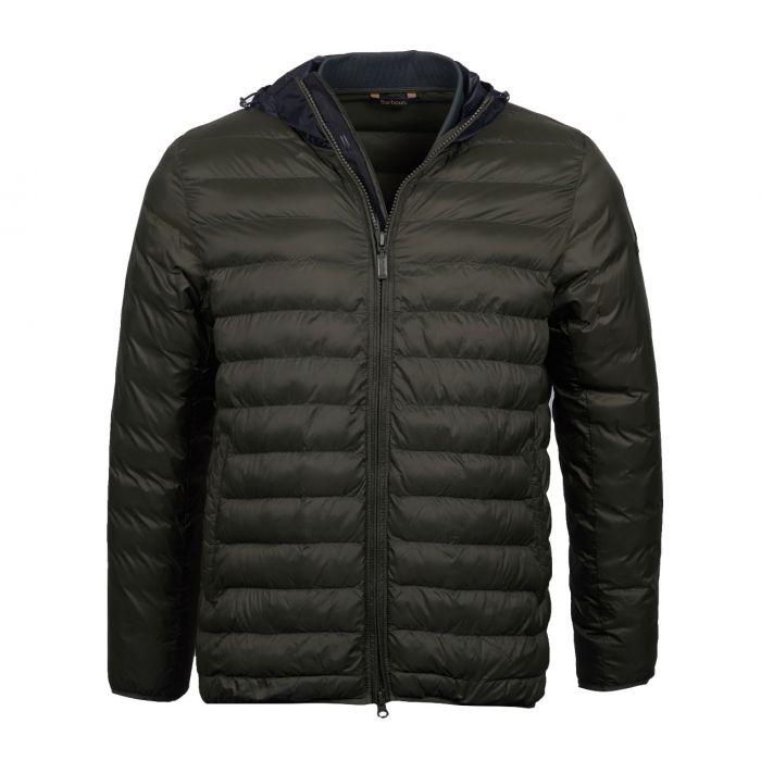 B.Intl Asphalt Quilted Jacket