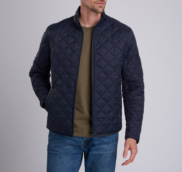 barbour gear quilted jacket
