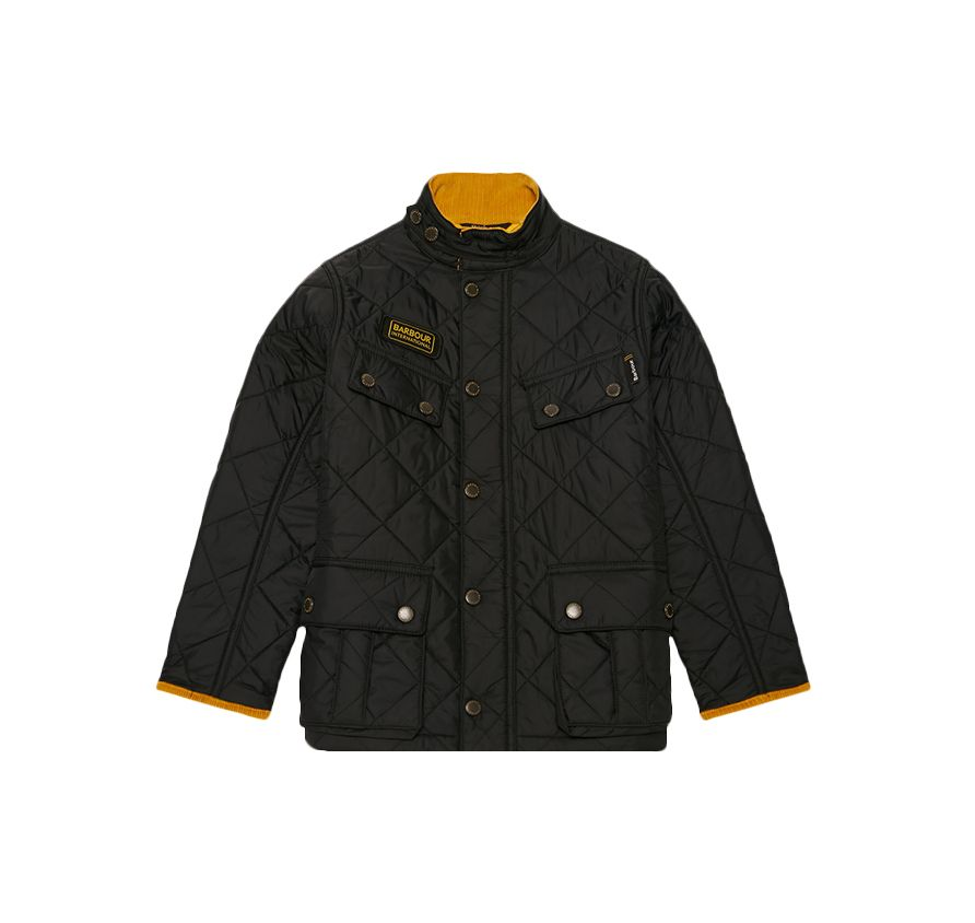 94cda2bc5 B.Intl Boys Ariel Quilted Jacket | Barbour International